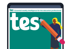 Tes magazine cover image