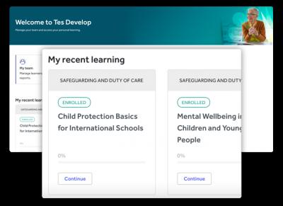 Develop platform screenshot