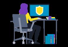 Safeguarding training image